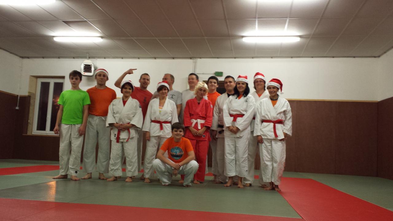 Groupe Ado/Adultes lors du dernier cours de l'année 2013