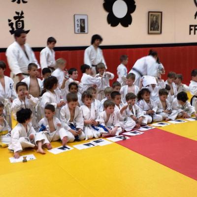 Rencontre Eveil Judo avec Mazamet