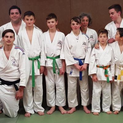 Le groupe Benjamin - Minimes - Cadet compétiteurs