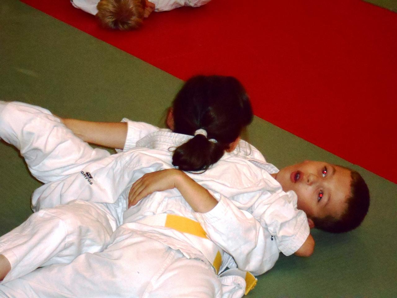 Cours enfants en commun