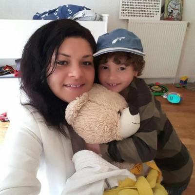 Nolan, sa maman et Jean Marcel