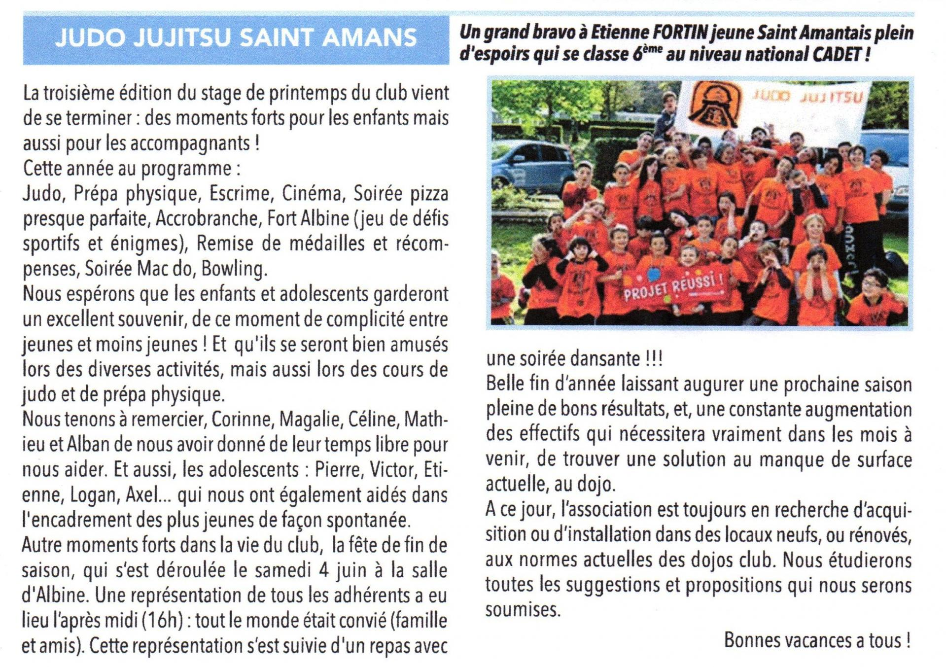 Article soultois juin 2016