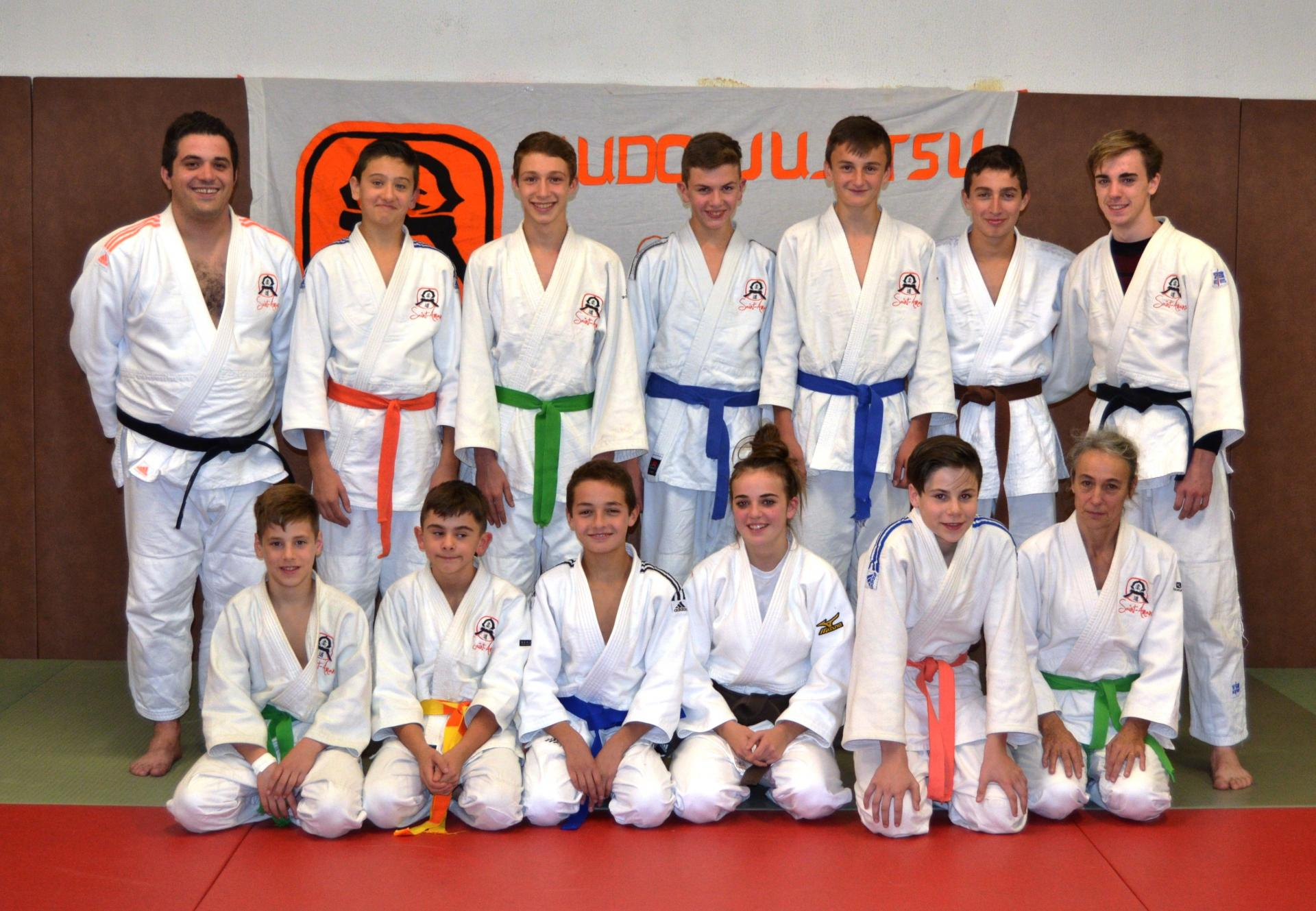 Groupe Judo Jujitsu Ado/Adultes (Novembre 2017)
