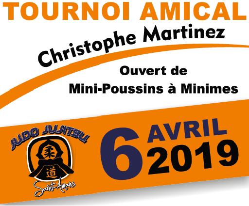 Tournoi amical Christophe Martinez 2ème édition